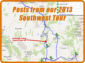 2013 Southwest Tour ewillys
