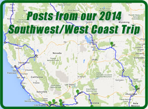 2014 Southwest / West Coast Tour