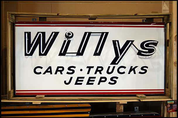 Willys-cars-trucks-jeeps-sign