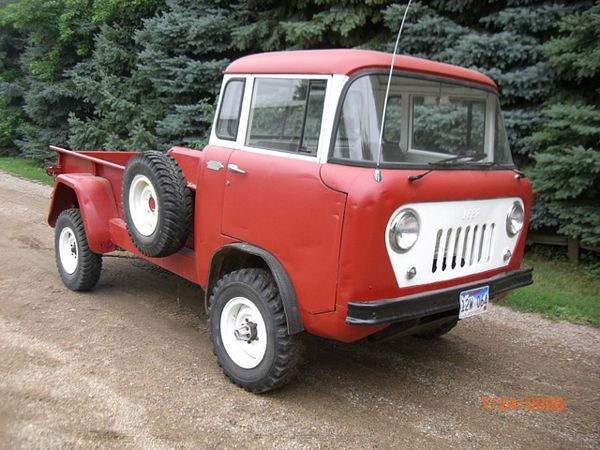 Cabover Jeep Pickup Autos Post