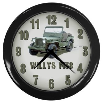willys-m38-jeep-clock