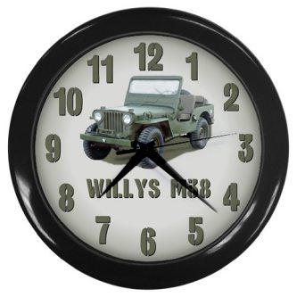 willys-m38-jeep-clock