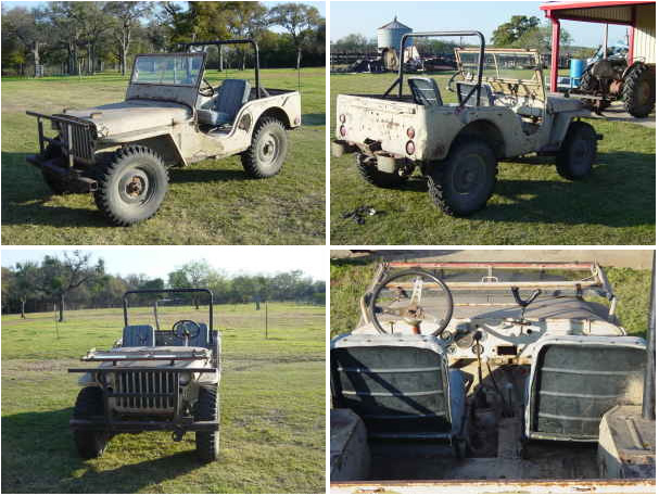 1942 Mb Temple Tx 2200 Modified Body Ewillys