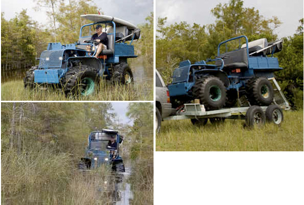 Swamp buggy/jeep Everglades, Fl