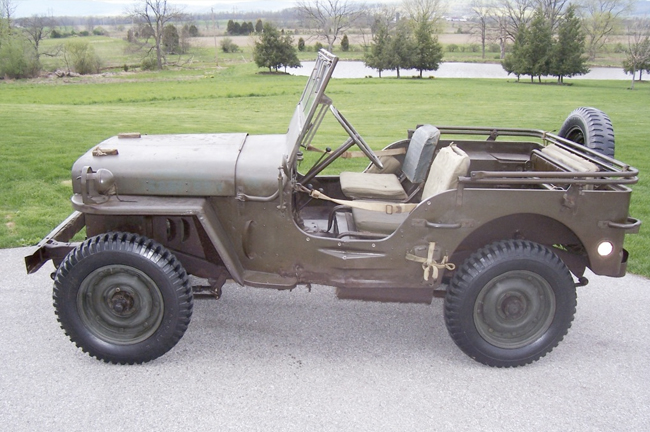 old willys mb 1944, ewillys