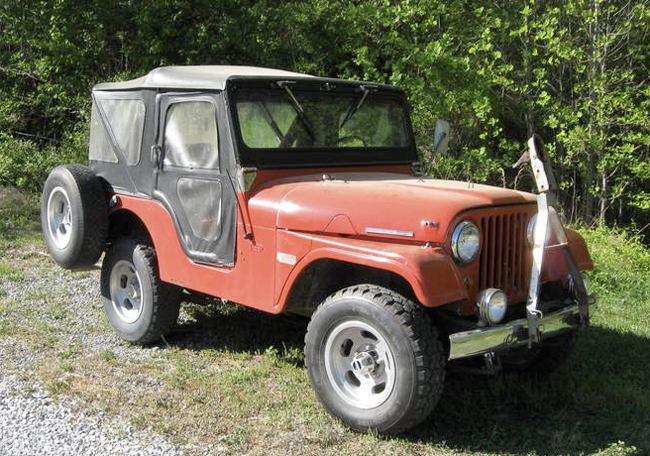 1965 Cj5 Kingston