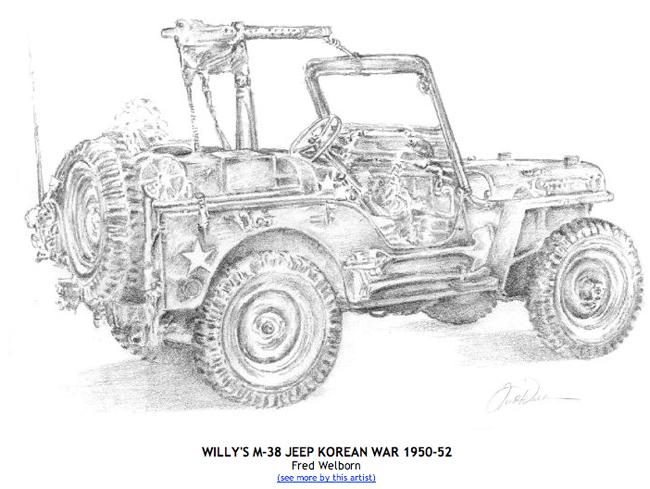 m38 jeep drawings related keywords