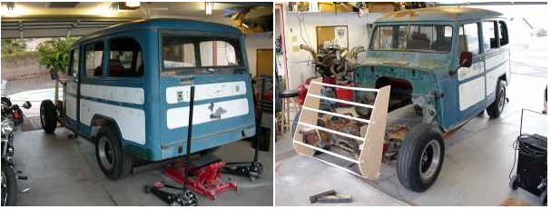 Wagon Project Mohave County, Az $950   eWillys