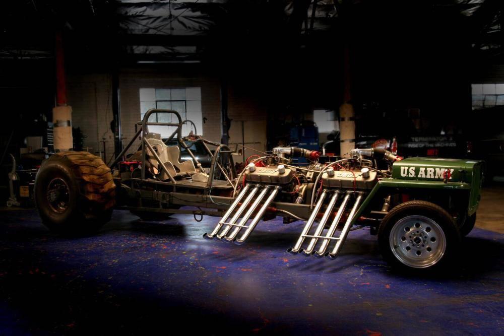 Builds 1945 monster garage flattie by jesse james ewillys - Jesse james monster garage ...