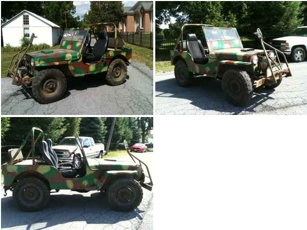 1949 Cj 2a Newville Pa 2500 Ewillys