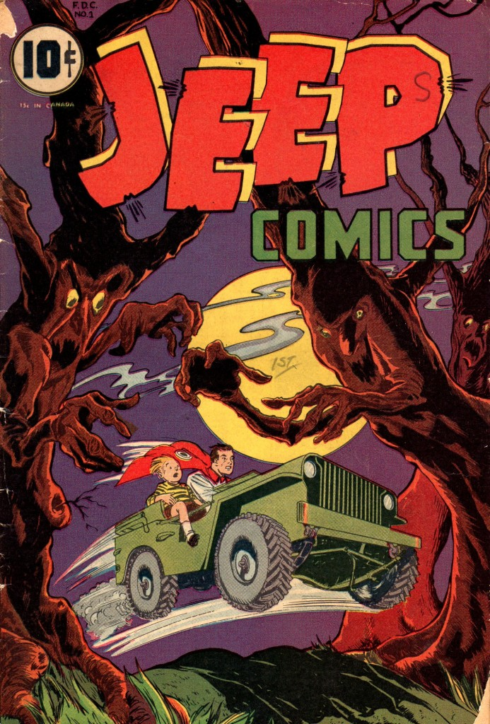 Jeep Comics Issue 1
