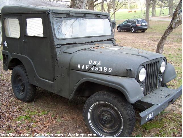 Jeep Fc For Sale >> 1959 CJ-5 @ Sellajeep.com $1700 | eWillys
