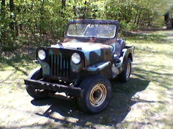 1953 Cj 3b Elliottsburg Pa For Trade Ewillys