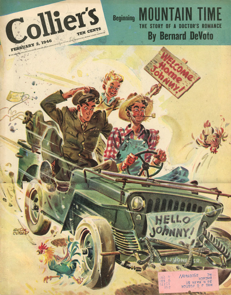1946-02-02-colliers-cover-welcome-home-johnny-lores