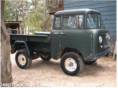 jeep fc 150 for sale autos post. Black Bedroom Furniture Sets. Home Design Ideas