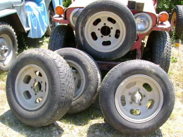 Tires and Rims eWillys