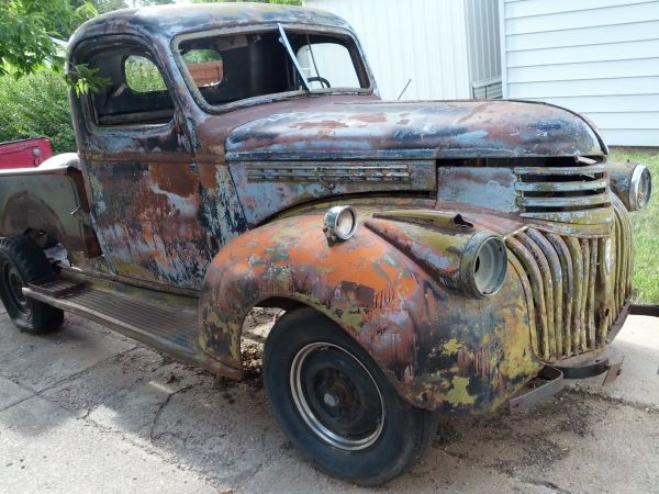 1946 chevy truck for sale craigslist. Black Bedroom Furniture Sets. Home Design Ideas
