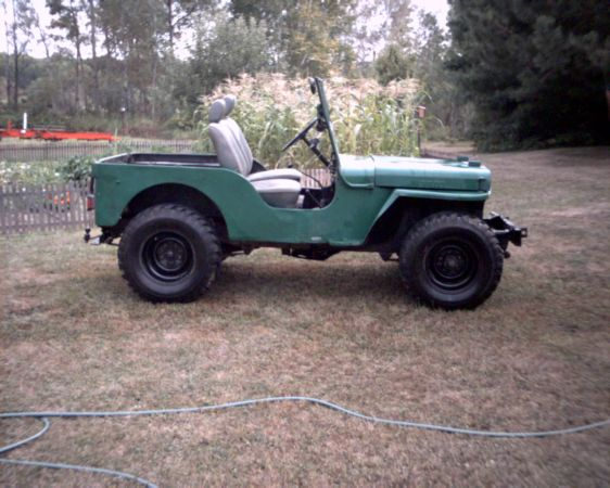 1947 cj 2a eau claire wi sold ewillys Eau claire craigslist farm and garden