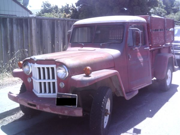 1954 truck santa cruz ca make offer ewillys