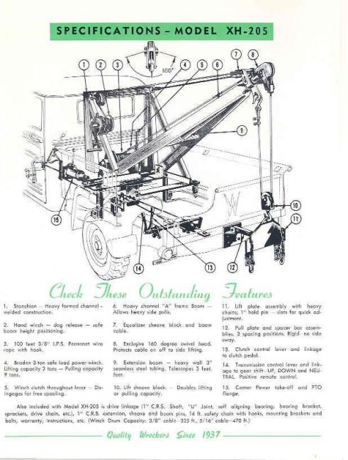 Diagram Tow Truck Parts Diagram