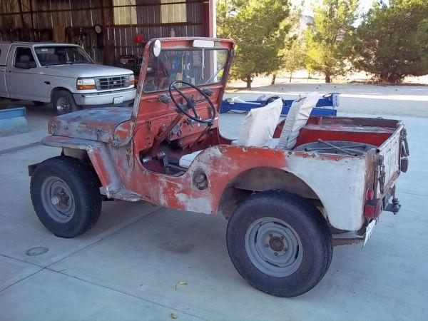 Craigslist Mohave County Az >> 1951 CJ-3A Mojave, CA $2500 | eWillys