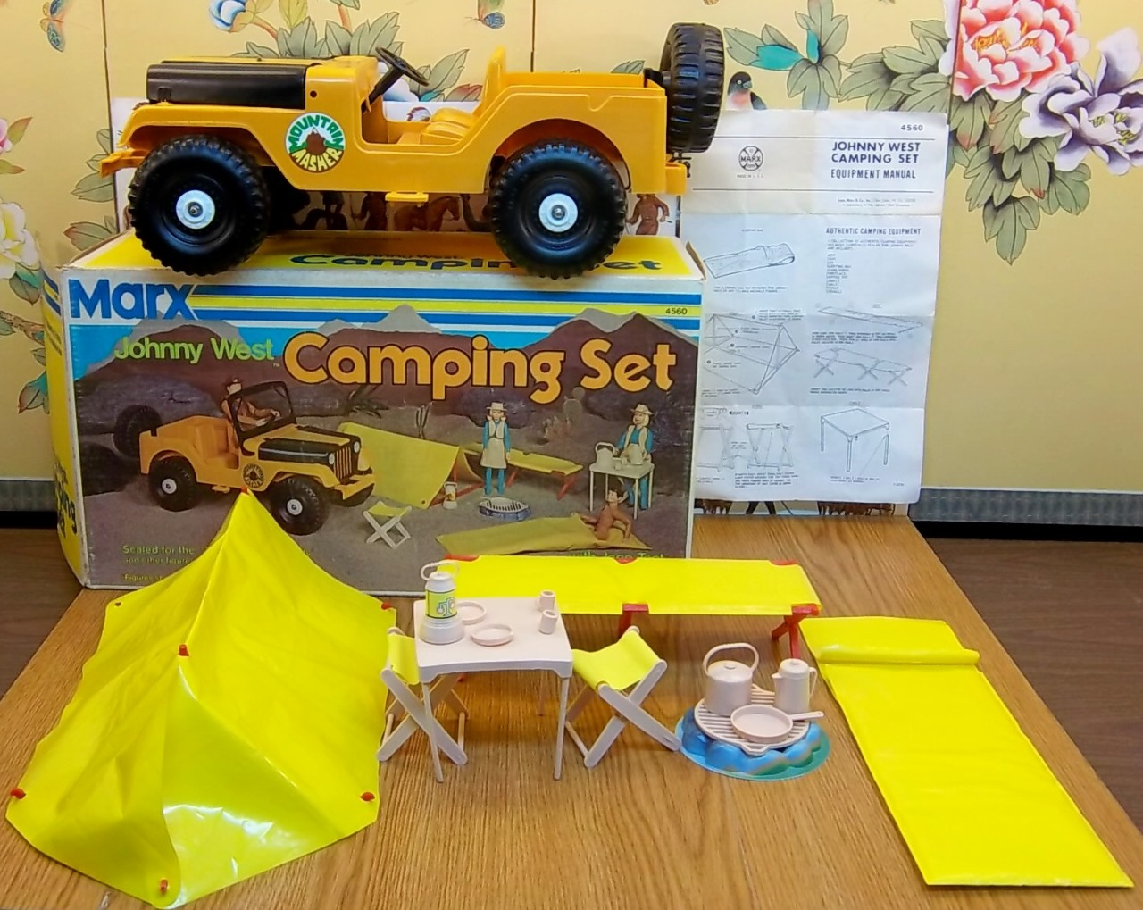 Johnny West Camping Set On Ebay Ewillys