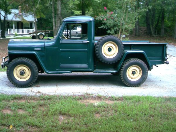 willys jeep pickup for sale on craigslist autos weblog. Black Bedroom Furniture Sets. Home Design Ideas