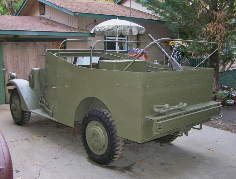 Jeeps For Sale In Md >> 1943 White M3A1 Scout Car Grants Pass, OR **SOLD** | eWillys