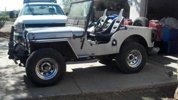 1952 CJ 3A Phoenix AZ $6500