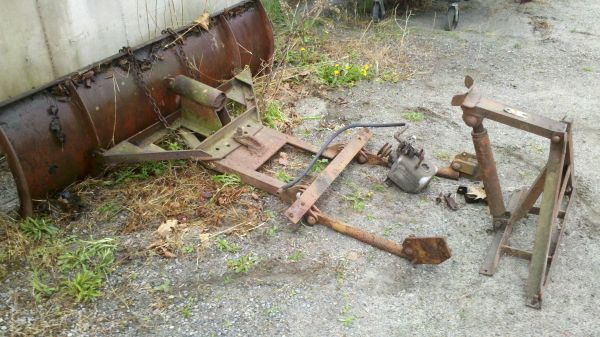 Willys Plow and Pump Warrensburg, NY $225   eWillys