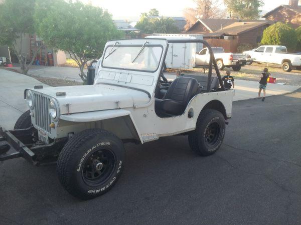 1946 CJ-2A Fort Mohave, AZ $4000   eWillys