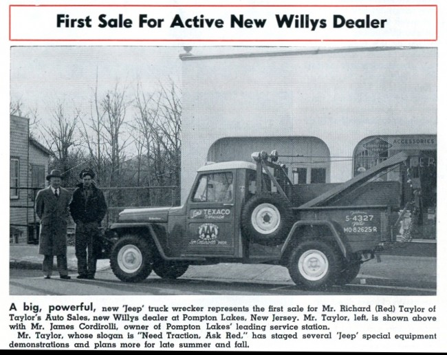 1956 August issue Tow Truck
