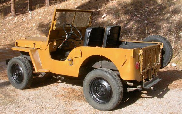 1947 CJ-2A Rapid City, SD $2950   eWillys