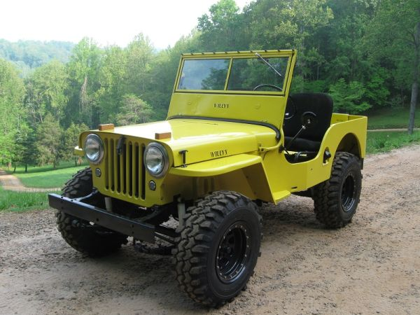 1946 CJ-2A Franklin, NC $9500   eWillys