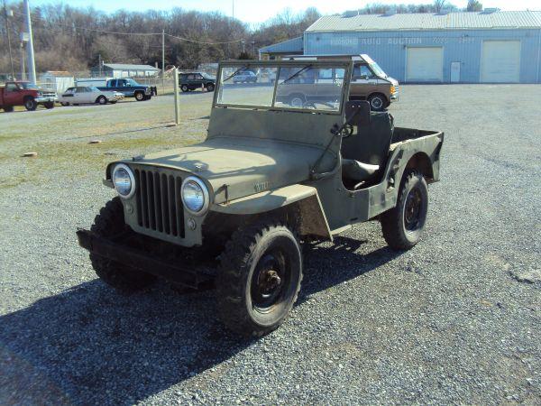 1949 Cj 2a Roanoke Va Sold Ewillys