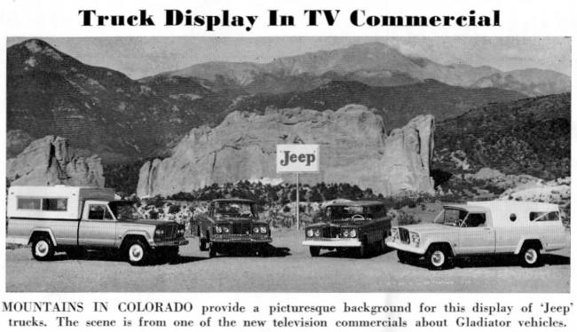 Trucks in commercial
