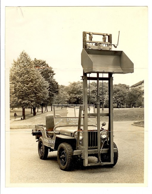 scheneker-ironworks-demonstration-jeep-lift-hydraulic