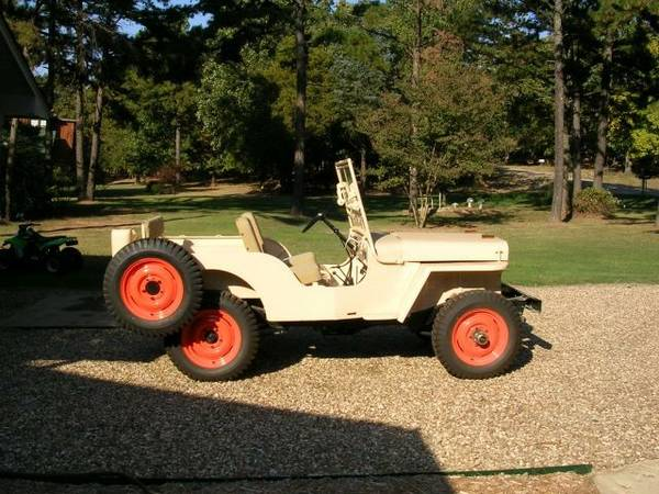Craigslist Fort Smith >> 1946 CJ-2A Fort Smith, AR $16,500 | eWillys