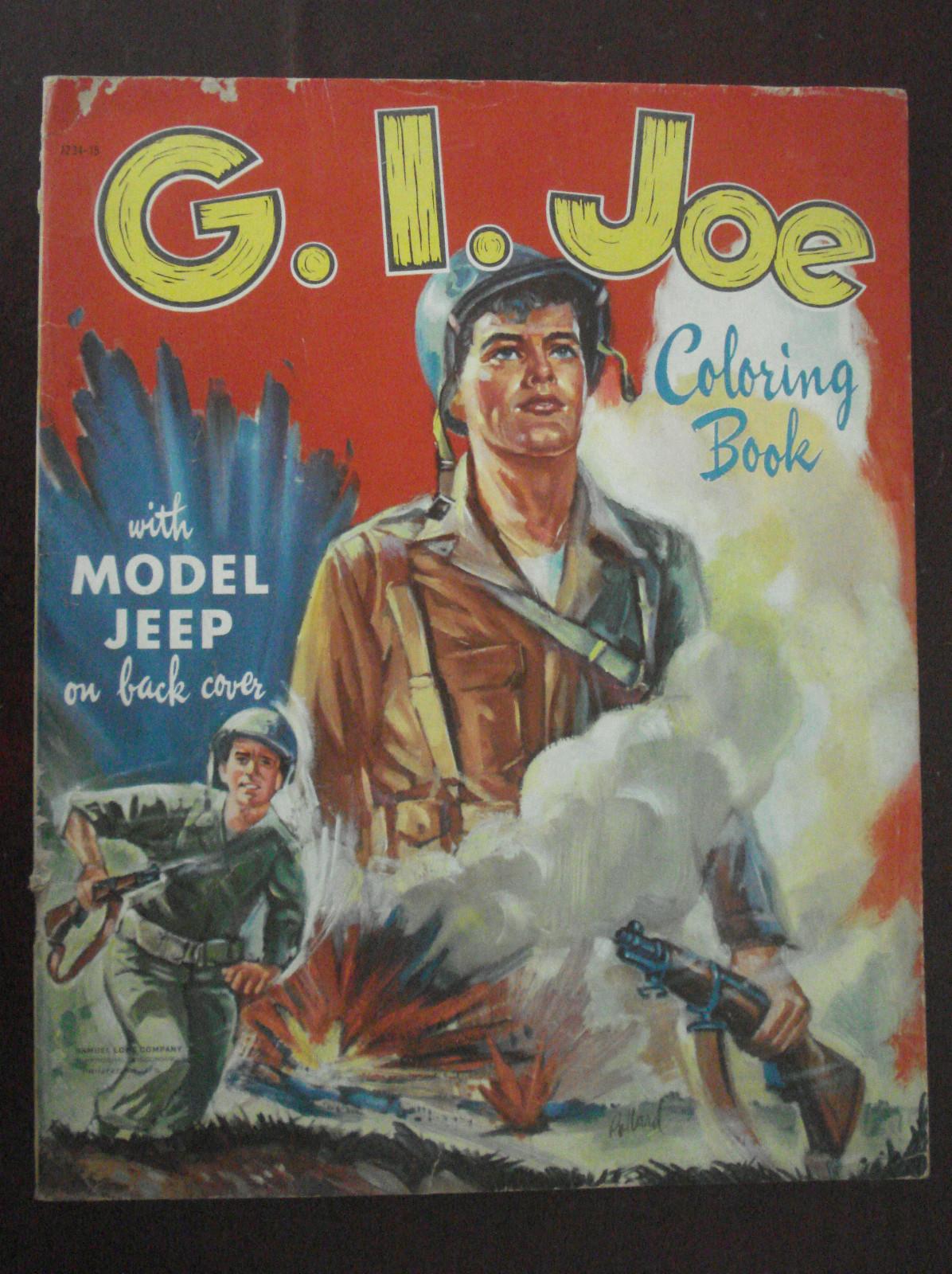 1951 GI-Joe Coloring Book on eBay | eWillys