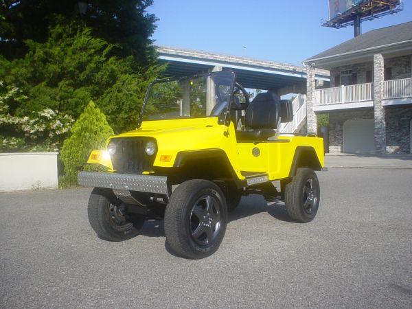 Custom Jeep Golf Cart Little River, SC $6000 | eWillys on garden tractors that look like jeeps, trucks that look like jeeps, cars that look like jeeps, suvs that look like jeeps,