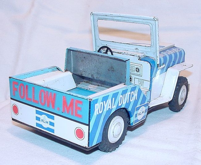 klm-royal-dutch-jeep-and-vw-tin-toy
