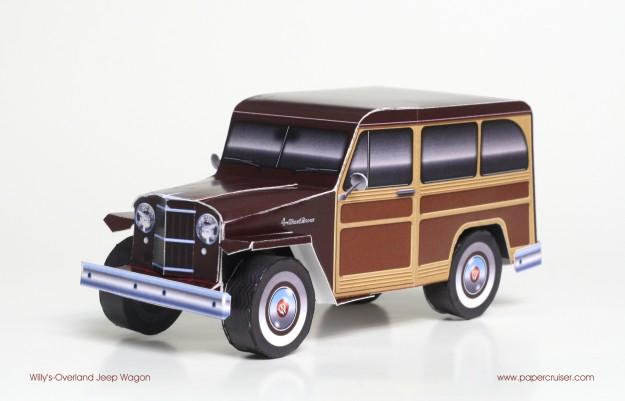 paper-wagon-model