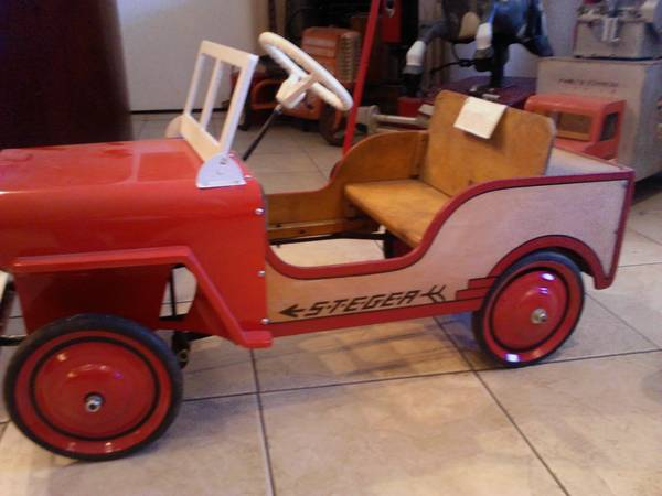 Jeeps For Sale In Md >> Steger Pedal Jeep Tucson, AZ $550 | eWillys