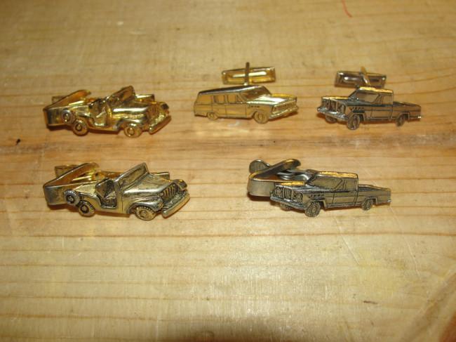 1960s-tie-clips-cuff-links