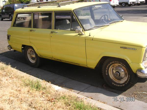 1968 Wagoneer Chico Ca 1700 Ewillys