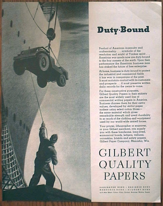 duty-bound-gilbert-quality-papers-ad
