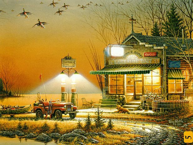puzzle-jeep-terry-redlin-welcome-to-paradise