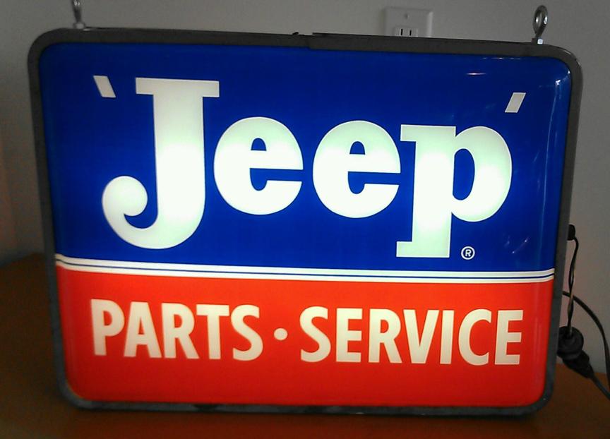 Vintage Jeep Sign On Ebay Ewillys