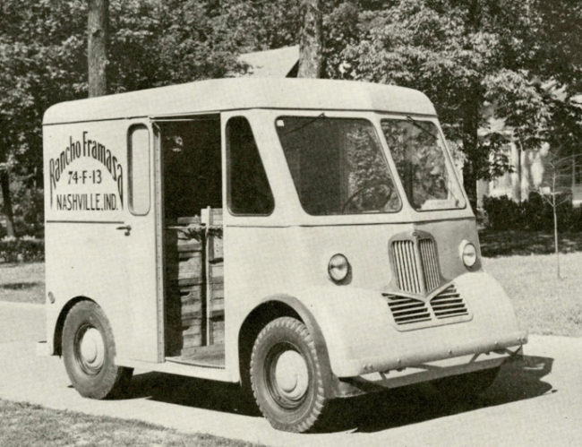1946 Marmon-Herrington Delivr-All Delivery Van