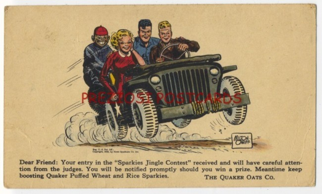 1946-quakeroats-terry-the-pirates-postcard